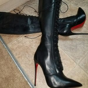 13740ab62579 Christian Louboutin Shoes - Christian Louboutin Mado over the knee boots 38